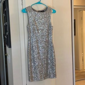 Sliver Rainbow Sparkle bebe dress! 💖